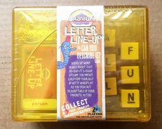"Cranium Letter Line-up ""Can You Describe It?"" Game + Case NEW SEALED 2007 #Cranium"