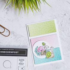 """Stefanie on Instagram: """"Ja, ich konnte nicht widerstehen und musste auch eine Karte mit den neuen Produkten basteln, aber natürlich zeig ich euch die nächsten Tage…"""" Snail Cards, Kids Cards, Homemade Cards, Stampin Up Cards, Pet Birds, I Card, Mini, Cardmaking, Poster"""