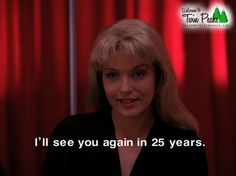 New Twin Peaks Coming From Showtime in 2016.  SO EXCITED!!!