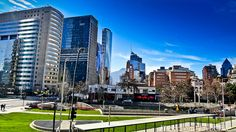 Tobalaba, Santiago de Chile #chile #Sanhattan #Clear Travel Around The World, Around The Worlds, The Wonderful Country, Places To Visit, Skyline, Explore, City, Photos, Love