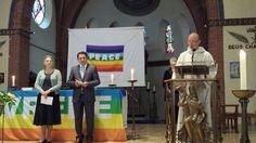Intereligious celebration for peace in Utrecht West