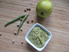 Cizrna se zelenými fazolkami a hruškami