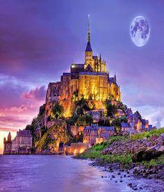 #Beautiful Le Mont Saint Michel #Castle, #France!