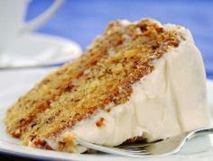 Banana Cake Recipe- Added rum and vanilla extract when mixing.  Delish!