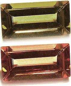 Tanzania color change Garnet / Grenat à changement de couleur de Tanzanie 0.74ct - http://www.gems-plus.com/gemmes/grenat-change-couleur