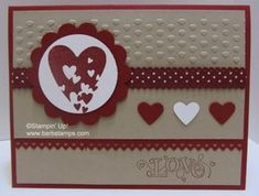 Sprinkled Expressions set and the love greeting comes from Outlined Occasions
