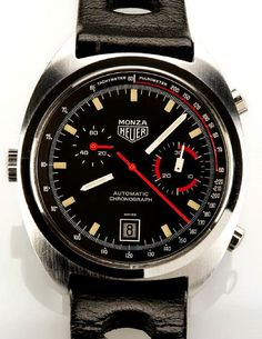 Racing Rarities Classic 1970s-era timepieces from TAG Heuer's motorsports heyday go on the auction block.