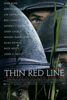 the thin red line.