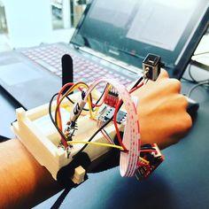 #studitu #itu #pervasivecomputing #weareablecomputing #machinelearning #arduino by charlotteaq