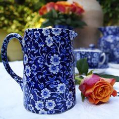 Time Was Antiques Family Blog: Tuesday Cuppa Tea, Burleigh, Middleport Pottery, Prince Charles