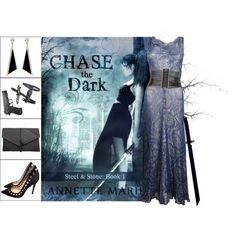 Book Look: Chase The Dark By Annette Marie by xmikky on Polyvore featuring Gianvito Rossi, MANGO, sass & bide and Whetstone Cutlery