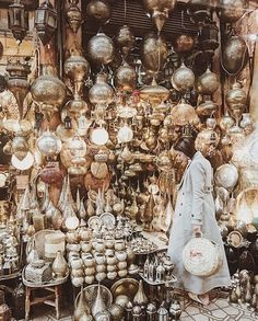 Lights ☄️   Medina, Marrakesh  .  By @kimcamjones  .  #moroccolives #morocco #africa #discover #marrakesh