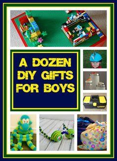 Countdown To Christmas: Dozen DIY Gift Ideas For Boys