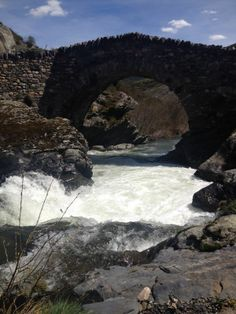 Aún vienen con mucha fuerza los #ríos pero ya empiezan a estar mejor.