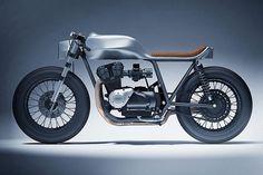Dimitri Bez revisite le Café Racer de Honda