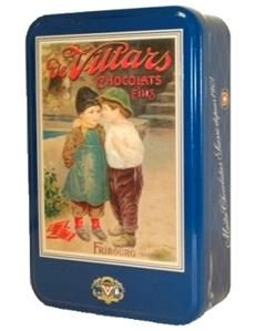 deVillars Swiss Chocolate Tin