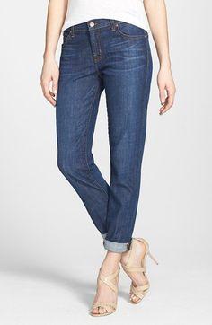 J Brand 'Midori' Straight Leg Boyfriend Jeans (Paradise) available at #Nordstrom