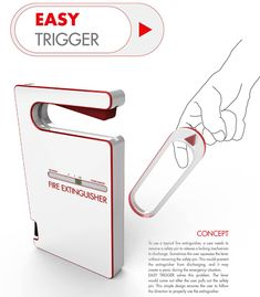 Easy Trigger – Fire Extinguisher by Shim Wonbo and Moon Woojung