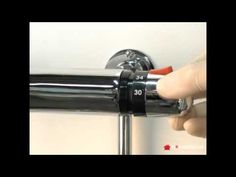 How to calibrate a modern handle mixer tap