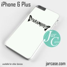 Paramore Logo 2 Phone case for iPhone 6 Plus and other iPhone devices