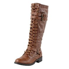 Wild Diva Women's Fashion Timberly-65 Military Knee High Combat Boots Shoes Cognac 8.5 Fourever Funky http://www.amazon.com/dp/B00HCQYOKC/ref=cm_sw_r_pi_dp_ZbRwwb10JGK0T