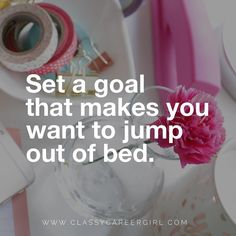 It's going to be a great day. What goal are you working towards? #babysteps #hustle Reposted Via @classycareergirl  https://www.instagram.com/classycareergirl/