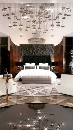 Luxury Bedroom Design, Room Design Bedroom, Luxury Rooms, Luxury Home Decor, Luxurious Bedrooms, Home Bedroom, Modern Bedroom, Luxury Master Bedroom, Modern Hotel Room