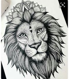 Click the picture to see the other lion tattoo collection . Ems Tattoos, Bild Tattoos, Future Tattoos, Animal Tattoos, Body Art Tattoos, Sleeve Tattoos, Tatoos, Lion Tattoo Design, Tattoo Designs