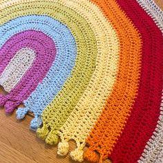 Rainbow Drop Blanket pattern by Melu Crochet Baby Afghan   Etsy Baby Afghan Crochet, Baby Afghans, Crochet Blanket Patterns, Baby Patterns, Crochet Stitches, Crochet Blankets, Rainbow Crochet, Chunky Yarn, Yarn Needle