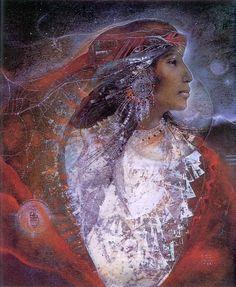"""""""White Shell Woman"""" by Susan Seddon Boulet #art native american"""