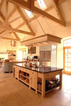 Barn Conversion Kitchens the kitchen table in sonya & glen's barn conversion near