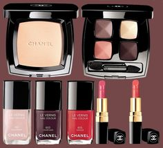 The Chanel Notes du Printemps spring 2014 makeup collection debuts in  January, bringing a pack of glam and cute makeup products. a645ea303b79