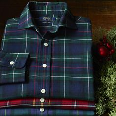 Polo Holiday Tartan Cotton Twill Shirt