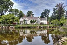 Fairytale Setting in Tokeneke. 3 Siwanoy Road, Darien CT. Represented by Eileen Hanford. To see more eye candy on this home go to http://www.halstead.com/sale/ct/darien/3-siwanoy-rd/house/99071814