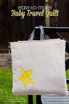 Easy-to-Make Baby Travel Quilt | Make It and Love It