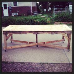 Pallet Harvest Table #Pallet, #Table