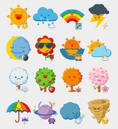 Seasons Stickers Set | Telegram Stickers