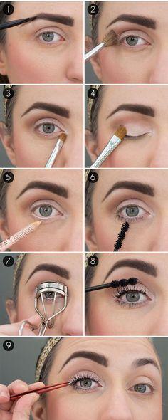 Bigger Eyes With Makeup Tricks