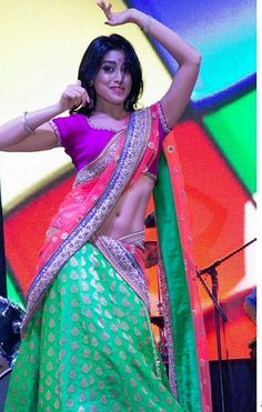 Sexy Shriya Saran in Saree