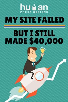 What do you do when you thinking your failing business isn't worth it? Learn how I turned my site around and turned into a success.