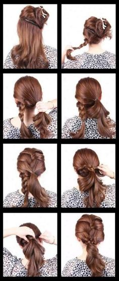 How to Do a French Braid On Yourself | how to do a french braid hairstyle french braid hairstyles go really ...Click on link & move down till you find this picture & it will give you instructions. by Margie369