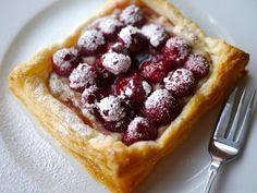 Emergency Raspberry and Mascarpone Tart