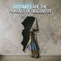 Don't be afraid to make mistakes because mistakes lead to discoveries. #motivation2study - : @georgiarosehardy