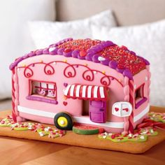 Valentine's Day Gingerbread Love Mobile | Cookie Gifts | Harry & David / WANT!