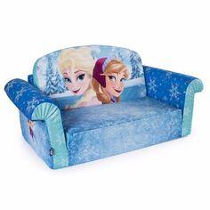 Sillon Sofa Cama Para Niña Frozen Infantil Asiento Ana Elsa