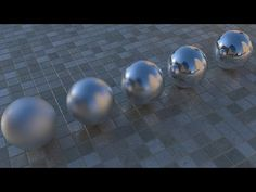 Maya and VRay Integration - Shaders Production - Reflection Glossines I - YouTube