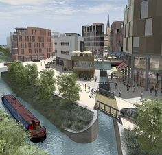 Plans for Chesterfield Waterside