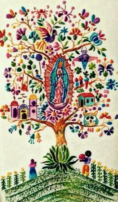 Our Lady of Guadalupe Mexicanos Guadalupanos Blessed Mother Mary, Blessed Virgin Mary, Catholic Art, Religious Art, Madonna, Saint Esprit, Mama Mary, Holy Mary, Cross Stitch Art