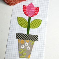 Scraps are being used up so quickly with the Bee Happy sew-along.