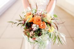 Beautiful bouquet-- Sentimental Chicago Wedding at the Nature Museum